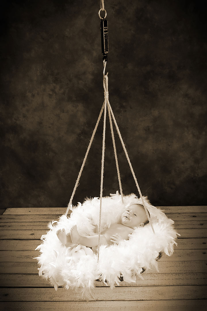 Professionelles Baby-Fotoshooting